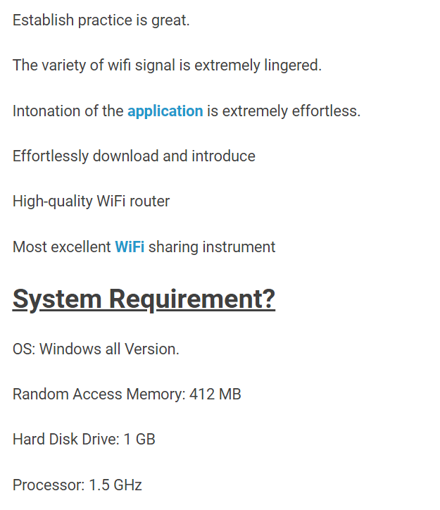Connectify Pro Version System Requirements